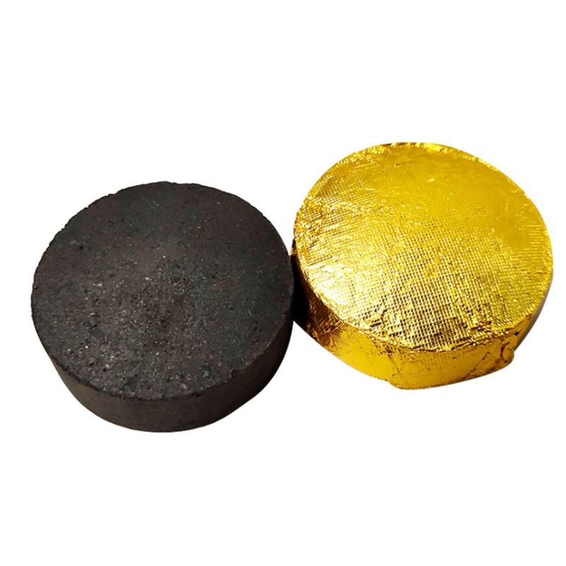 达愈无烟艾饼艾粒菩提灸丸 碳化椰灸丸坐熏丸艾块艾灸凳家用20片