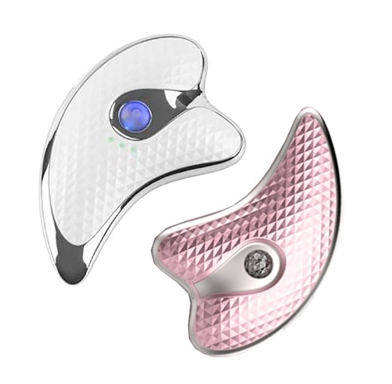 电动美容刮痧仪器小海豚震动恒温加热美容仪提拉微电流仪